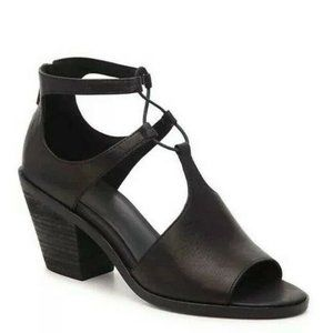 NEW Eileen Fisher Lou Black Leather Upper/Lining B